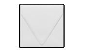 5 x 5 Square Contour Flap Envelopes