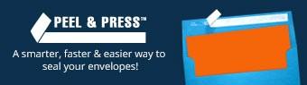 Peel and Press, Self-Adhesive Envelopes