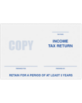 6 x 9 Tax Return Booklet Envelopes