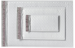 5 x 9 1/4 AirJacket Mailers White Bubble