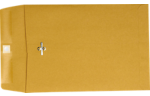6 x 9 Clasp Envelopes 28lb. Brown Kraft
