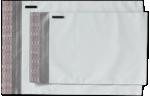 14 1/2 x 19 Plastic Mailers White Plastic