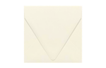 5 x 5 Square Contour Flap Envelopes Natural - 100% Recycled