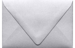 A1 Contour Flap Envelopes Silver Metallic