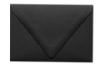 A1 Contour Flap Envelopes Midnight Black