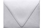 A2 Contour Flap Envelopes Silver Metallic