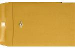 7 x 10 Clasp Envelopes 28lb. Brown Kraft