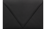 A7 Contour Flap Envelopes Midnight Black