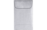 #1 Coin Envelopes Silver Metallic