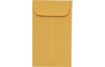 #00 Coin Envelopes 24lb. Brown Kraft
