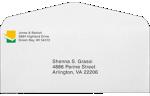 #10 Regular Envelopes 24lb. Bright White
