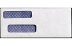 Check Double Window Envelopes 24lb. Bright White
