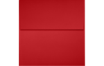 4 x 4 Square Envelopes Ruby Red