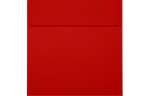5 1/2 x 5 1/2 Square Envelopes Holiday Red