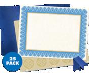 8 1/2 x 11 Customizable Award Certificates Kit