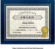 10 3/4 x 13 Certificate Frame w/ Easel