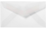 #3 Mini Envelopes Clear Translucent