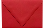 A1 Contour Flap Envelopes Ruby Red