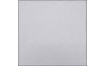 6 1/4 x 6 1/4 Petals Top Layer Card Silver Metallic