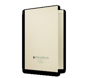 9 x 12 Presentation Folders - One Pocket (Left) w/ Staple Tab Optional Window | Folders.com
