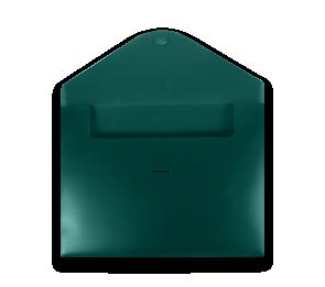 Poly Envelope with Half Moon Closure (9 1/2 x 12) | Folders.com