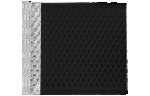 6 X 6 1/2 - LUX Matte Metallic Bubble Mailer Black