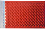 12 X 17 - LUX Matte Metallic Bubble Mailers Red