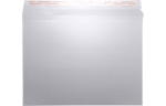 9 1/2 x 12 1/2 Paperboard Mailers Silver Metallic