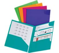 Oxford Divide It Up 4-Pocket Poly Folders
