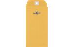 #5 1/2 Coin Clasp Envelopes 32lb. Golden Kraft
