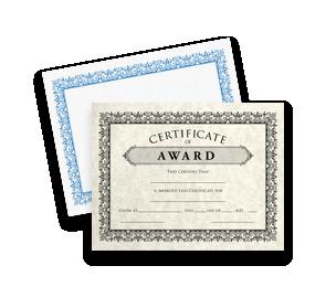 Certificates | Folders.com