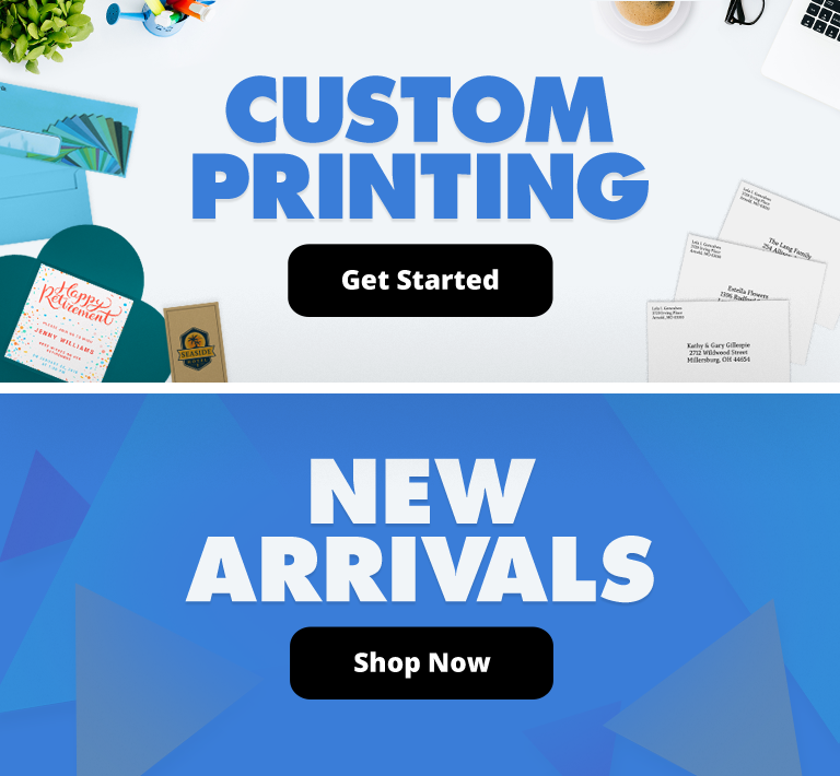 Custom Printing | New Arrivals