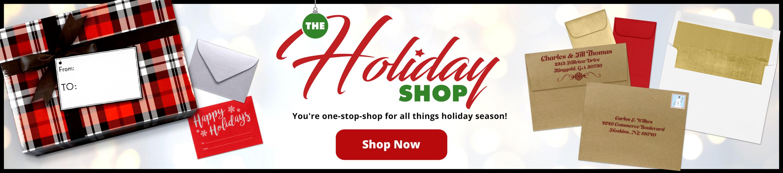 The Holiday Shop | Envelopes.com
