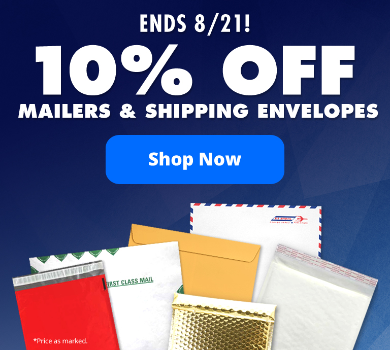 10% Off Mailers & Shipping Envelopes | Envelopes.com