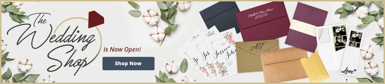 The Wedding Shop   Envelopes.com