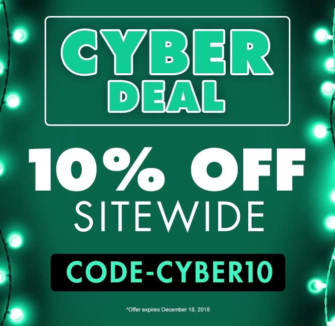 Cyber Deal - 10% OFF