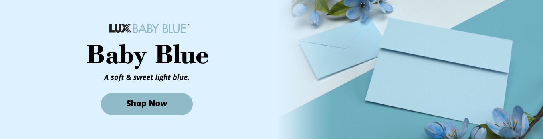 LUX Baby Blue™   Envelopes.com