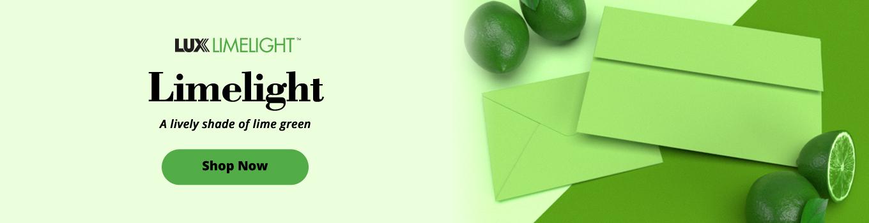 LUX Limelight™   Envelopes.com