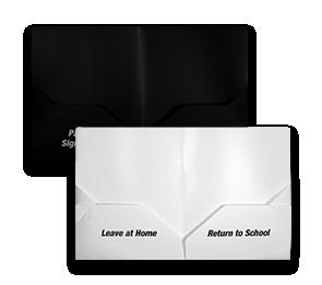 9 x 11 3/4 Preprinted Poly Folders | Envelopes.com