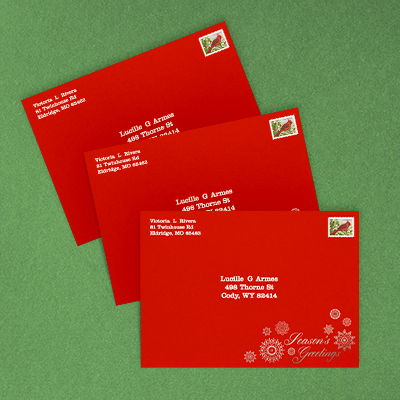 Recipient Addressing | Envelopes.com