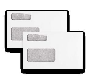 T4 Double Window Envelope   Envelopes.com