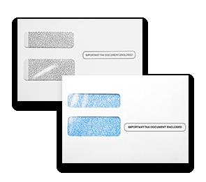 W-2/1099 Double Window Envelopes | Envelopes.com